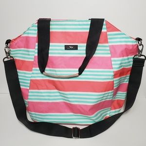 Scout Large tote shoulder bag striped